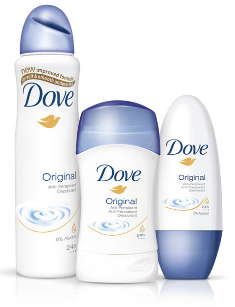 antyperspiranty Dove