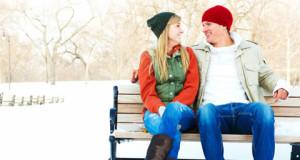 chłopak i dziewczyna na ławce