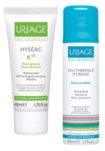 Uriage, Hyseac, woda termalna