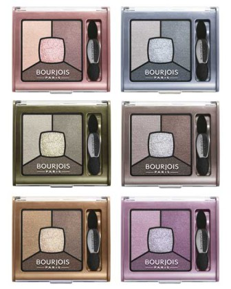 Bourjois Paletki cieni Smoky Stories