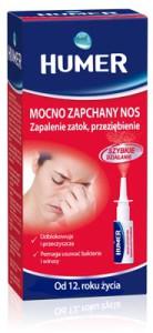 Humer hipertoniczny Mocno zapchany nos, Zapalenie zatok, Przeziębienie