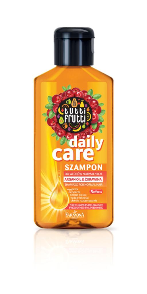 Farmona Tutti Frutti Argan oil i zurawina - szampon
