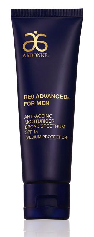 RE9 Advanced for Men Nawilżający krem zwalczający oznaki starzenia SPF 15