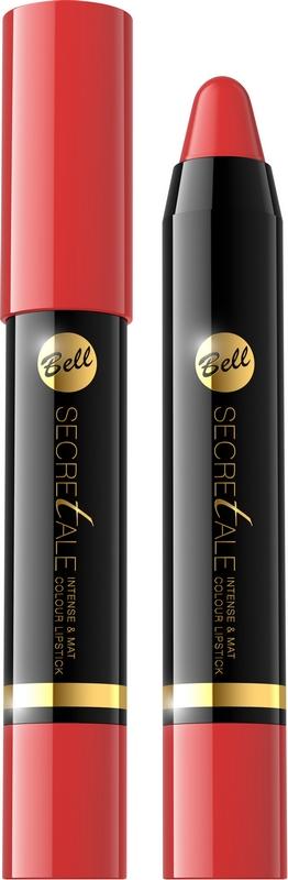 BellSECRETALE Intense&Mat Colour Lipstick 01