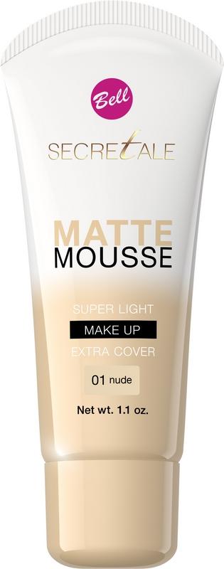 BellSECRETALE Matte Mousse Make-Up 01