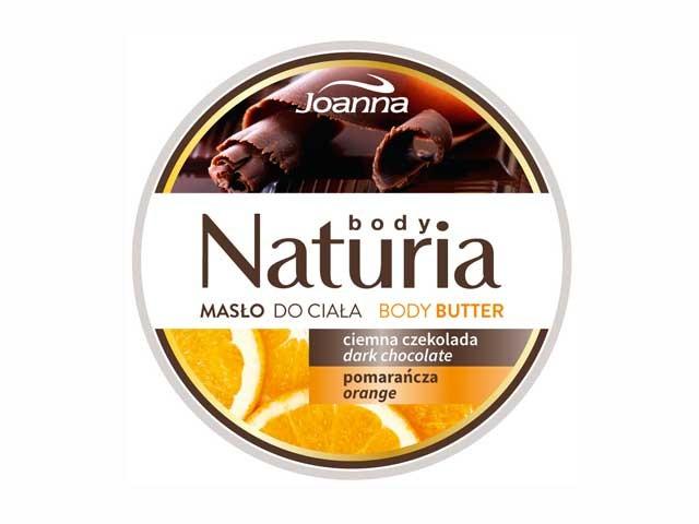 Masło do ciała czekoladowo pomarańczowe Naturia Joanna