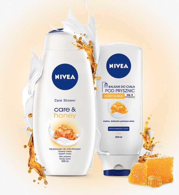 Pielęgnujący miodowy zestaw pod prysznic NIVEA