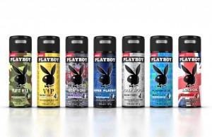 Linia męskich dezodorantów Playboy Skintouch