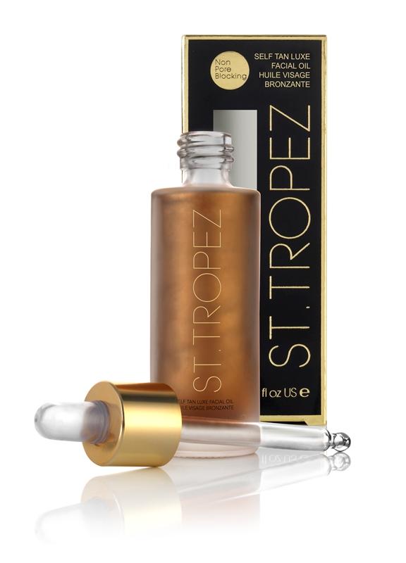 St.Tropez Luksusowy olejek samoopalający do twarzy