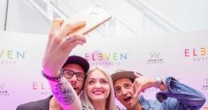 Konferencja prasowa marki Eleven Australia