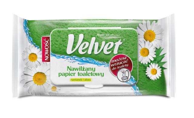 papier toaletowy Velvet Rumianek