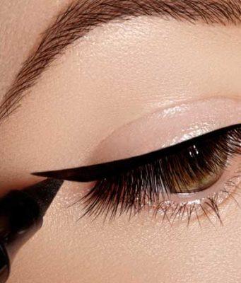 eyeliner kreska oko