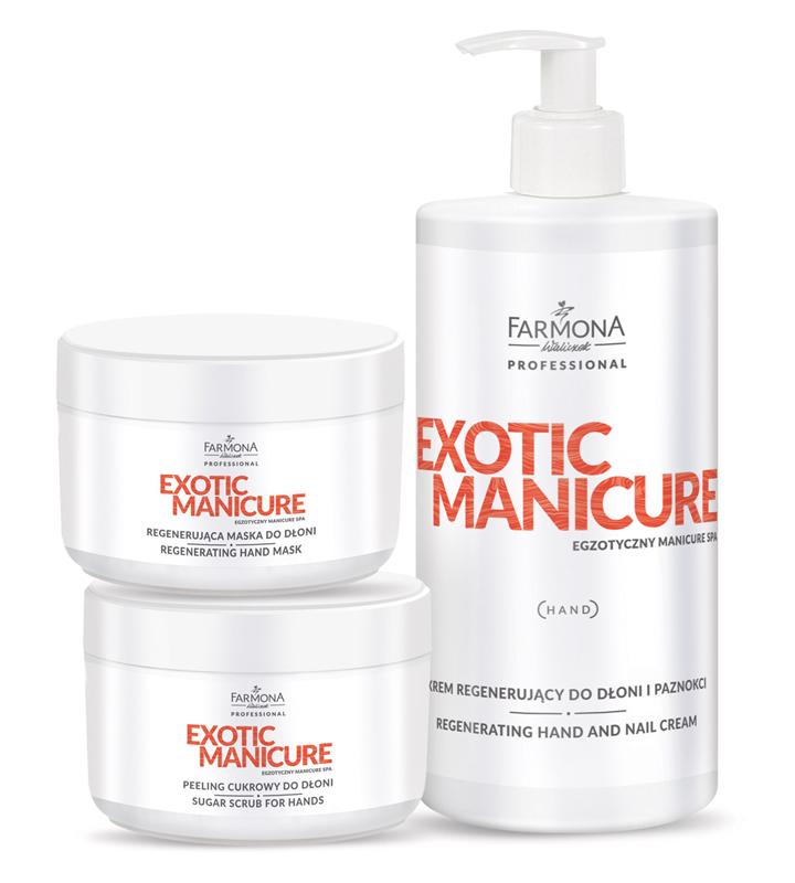 exotic manicure farmona