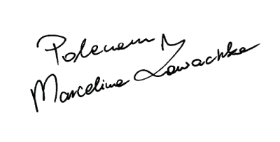 podpis marceliny