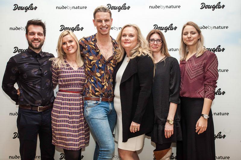 Lansowanie Nude by Nature – z przedstawicielami Douglas