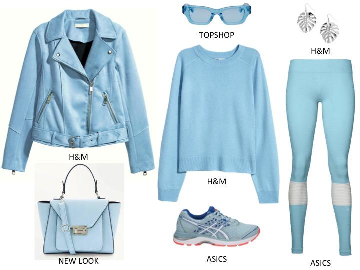 niebieskie stylizacje