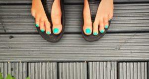 piękne zadbane stopy